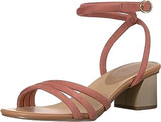 Chinese Laundry Women's Montezuma Heeled Sandal, Clay Suede, 9 M US