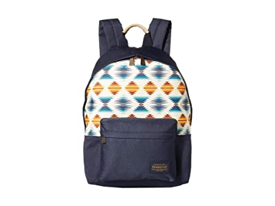 Pendleton Canopy Canvas Backpack (Falcon Cove Sunset) Backpack Bags