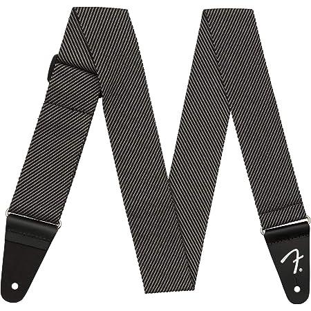 """Fender 099-1447-406 Bracelet en tweed moderne, 2"""", gris/noir"""