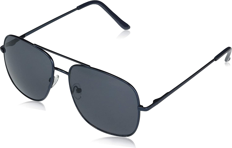 Amazon Essentials Men's Navigator Sunglasses Pilot