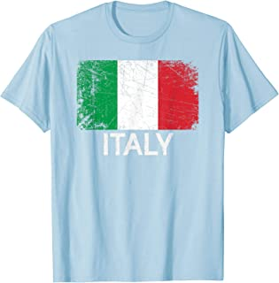 Italian Flag T-Shirt | Vintage Made In Italy Gift