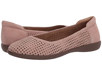 Naturalizer Flexy 2 (Barely Nude Suede) Women