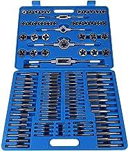 Verstelbaar Tappen Set, 110pcs M2-M18 Schroef moerdraad Kranen Dies met Wrench Handle Heavy Duty Hand Tool Kit Uitgebreid