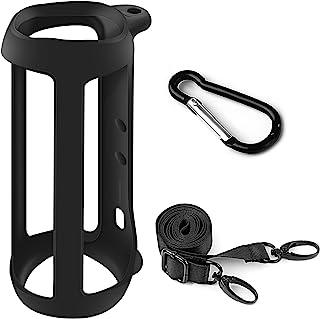 Silicone Case Compatible for JBL FLIP 5 Waterproof Portable Bluetooth Speaker, Gel Soft Skin Cover, Waterproof Rubber Case...