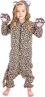 Shark Monkey Cheetah Panda Unicorn Onesie Pajamas Costume for Kids Girls and Boys (5-14year)