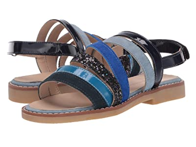 Elephantito Endless Spring Sandal (Toddler/Little Kid/Big Kid) (Blue) Girls Shoes