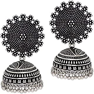 YouBella Ethnic Jewelry Bollywood Traditional Afghani Gypsy Earrings for Women and Girls