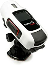 Tuff Luv Silicone Gel Skin Case Cover for Garmin Edge Virb/HD Elite Camera - White