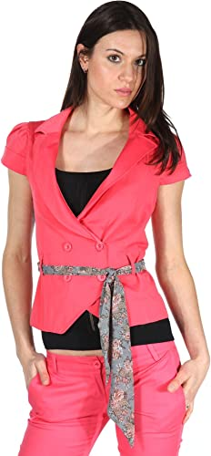 Fiondotinta Femmes Blazer Rose WJ-0526-CORAL