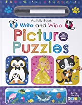 Page Publications Collection - Write and Wipe Picture Puzzles - Early Learning for Children - Best Activity Book - Perfect...