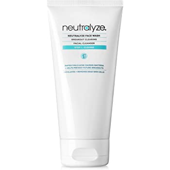 Neutralyze Acne Face Wash - Maximum Strength Face Wash For Acne Prone Skin With 2% Salicylic Acid + 1% Mandelic Acid (5.0 oz)
