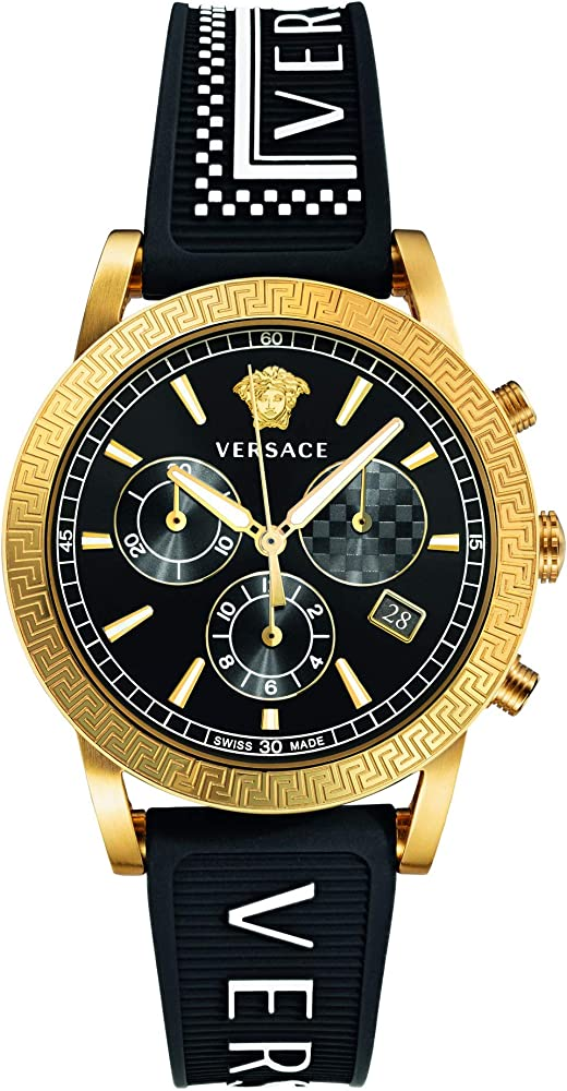 Versace orologio cronografo in acciaio inossidabile da donna VELT00119