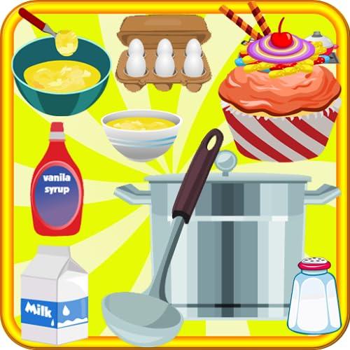 cupcakes de table de cuisson