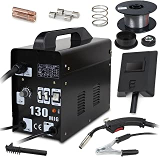 Super Deal PRO Commercial MIG 130 AC Flux Core Wire Automatic Feed Welder Welding Machine..