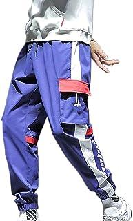 XYXIONGMAO Joggers Hip Hop Streetwear Cargo Pants for Men Teen Overalls Casual Loose-Fitting Harem Sweatpants