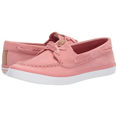 Sperry Sailor Boat Leather (Nantucket Red) Women