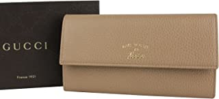 4dc20d6469a0 Gucci Light Brown Leather Wallet With Coin Pocket 354496 2762