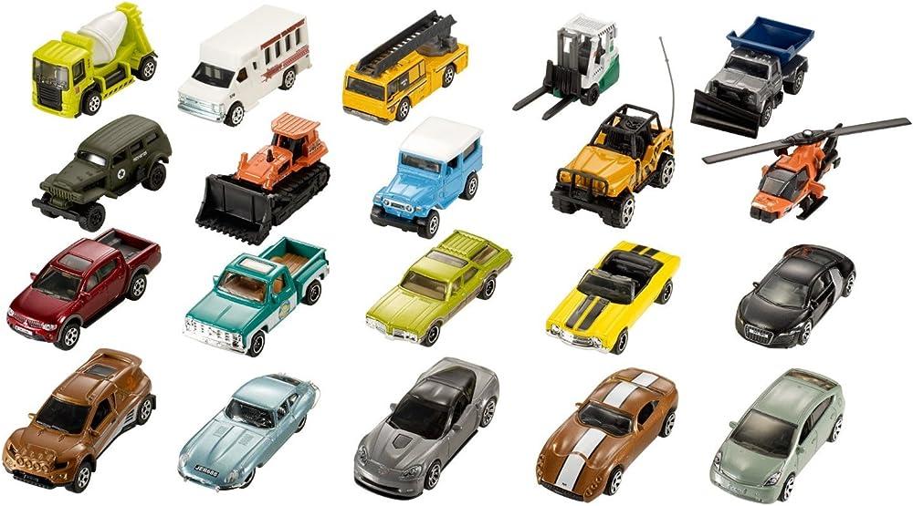 Mattel,matchbox set ,modelli di macchinine