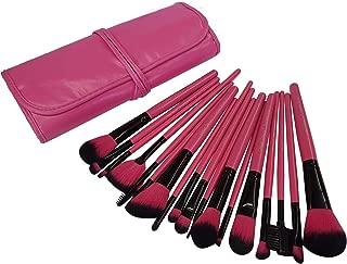 Urban Beauty Makeup Brush (Pink) -Set of 18 Pieces
