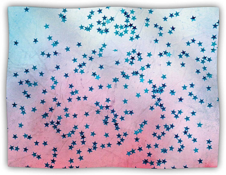 Kess InHouse Iris Lehnhardt  Stargazer  Red bluee Pet Blanket, 40 by 30Inch