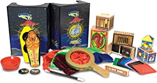 Melissa & Doug Deluxe Magic Set | Pretend Play Toy | Play Set | 8+ | Gift for Boy or Girl