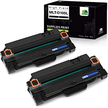 MLTD105S SuppliesOutlet Compatible Toner Cartridge Replacement for Samsung MLT-D105L MLT-D105S MLTD105L High Yield Black,5 Pack