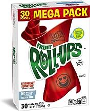 Fruit Roll-Ups Fruit Snacks, Mega Pack - Strawberry - 15 oz