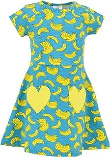 Unique Baby Girls Spring Summer Banana Dress
