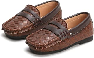 Sponsored Ad - YWPENGCAI Boys Leather Shoes Slip-on Loafers (Toddler, Little Kid)