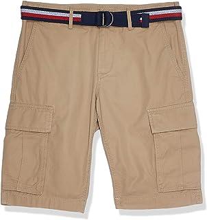 Tommy Hilfiger Men's John Cargo Short Light Twill Belt Short