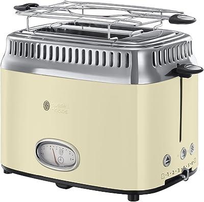 Russell Hobbs 21682-56 Toaster Retro Vintage cream-21682-56, Cream