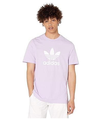adidas Originals Trefoil Tee (Purple Glow) Men