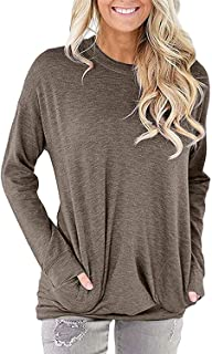 BBX Lephsnt Womens Long Sleeve Lightweight Pullover Floral Hoodie with Kangaroo Pocket