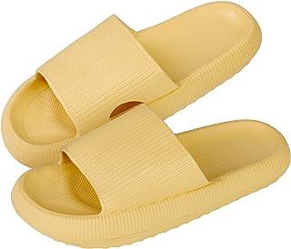 MoneRffi Chaussons Sandales Pantoufles été femme CloudFeet Ultra-Soft Slippers Pillow Slides Plage Femme Hommes Pantoufles...