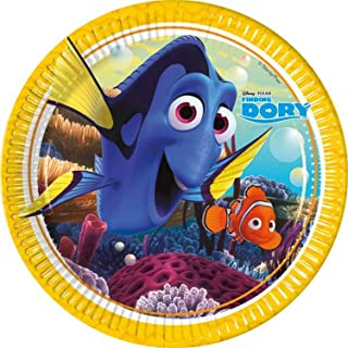 Procos Finding Dory 8 Paper Plates, 23 cm - 86648
