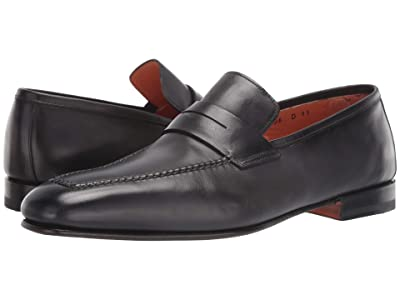 Santoni Fox Loafer (Grey) Men