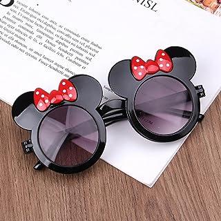 Luntus - Luntus Mouse niños Gafas de Sol en Forma de Concha de Dibujos Animados Bowknot Anti-UV Moda niña Accesorios Regalo Gafas de Juguete