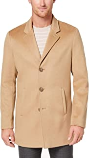 Men's Cashmere Slim Fit Wool Coat