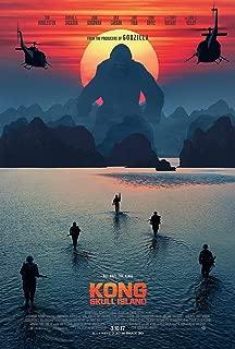 bribase shop Kong-Skull Island Monster Tom Hiddleston Movie 2017 Poster 20 inch x 13 inch