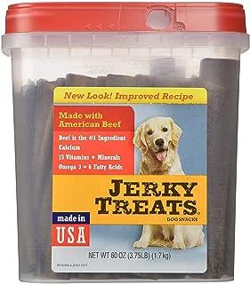 Jerky Treats Tender Strips Dog Snacks Beef 60 oz. 3.75 lbs Jerky-hl Jerky-7q (60 Oz)