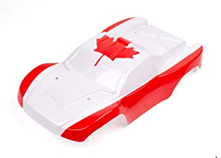 SummitLink Custom Body Canada Maple Leaf Flag Style Compatible for 1/10 Scale RC Car or Truck (Truck not Included) SS-FCA-01