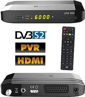FULL HDTV Digital SAT Receiver UNS1001 DVB-S2 1080p USB 2.0 HD HDMI Kabel