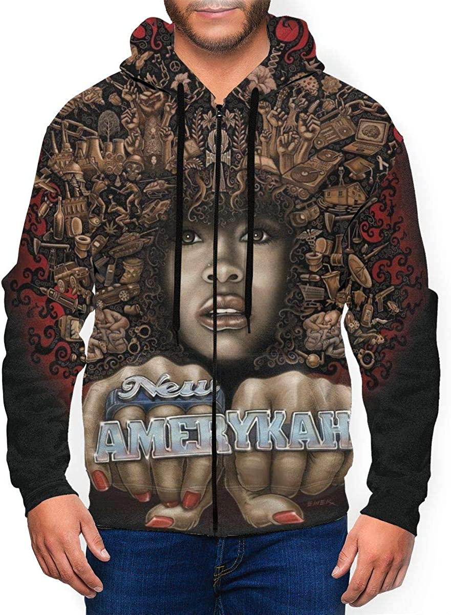 DorotyRTrumbauer Erykah Badu Men Attention brand Athletic Full Zip specialty shop Sweatshirt Ac