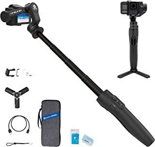 FEIYU TECH Vimble 2A Action Camera Gimbal Stabilizer Compatible with Gopro Hero 8/7/6/5,18cm Extendable Pole, New Portrait...