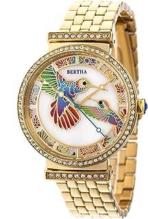 Emily MOP Bracelet Watch - Gold
