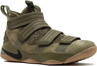 Nike Lebron Soldier Xi SFG Men's Basketball Shoes (10 D(M) US, Medium Olive/Black)