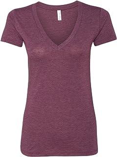 e58c5c208ff Bella Canvas 8435 - Ladies  Triblend Deep V-Neck T-Shirt