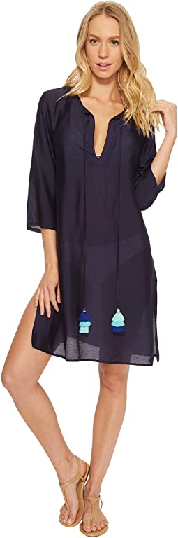 Solid Tunic Cover-Up