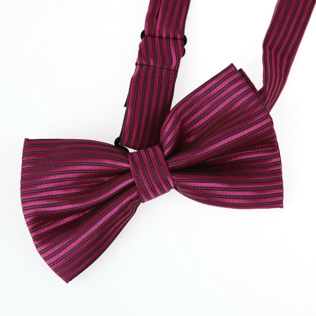 DBC2021 Black Bowtie For Marriage Black Pre-tied Bow tie By Dan Smith