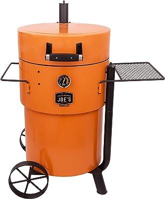 Oklahoma Joe's 19202100 Bronco Pro Drum Smoker, Orange